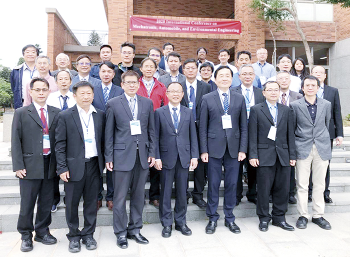 金門大學舉辦2020國際微機電、自動車與環境工程研討會,國內學者共聚金大交流。(許加泰攝)